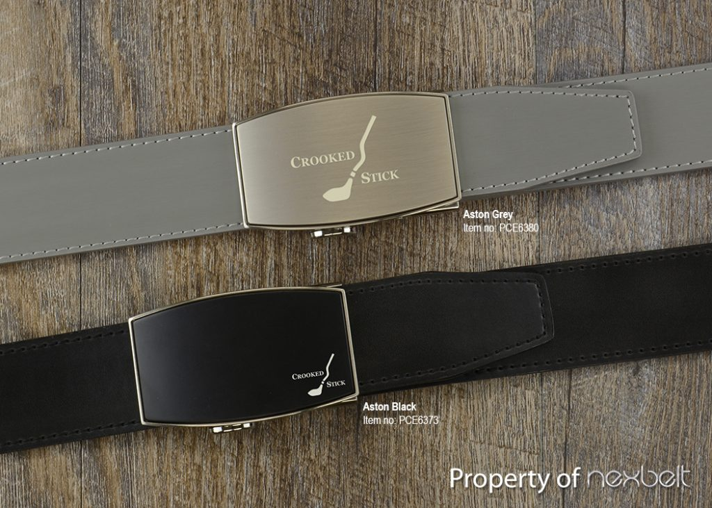 Crooked Stick Etched Buckle-Aston